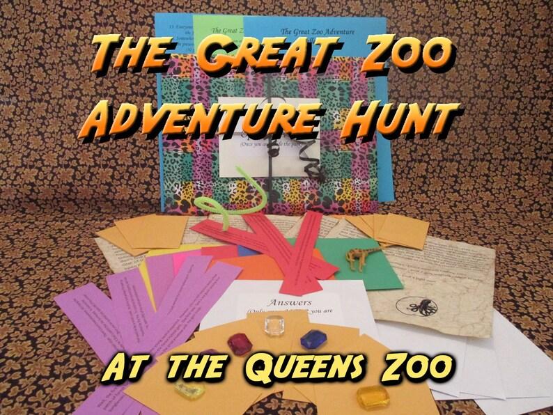 Scavenger Hunt  Queens Zoo Adventure Hunt  The Great Zoo image 0