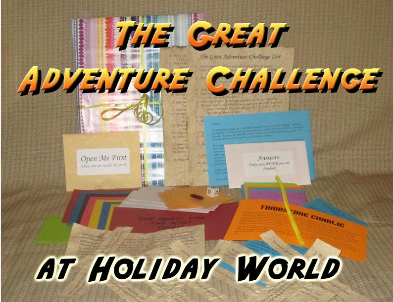 Scavenger Hunt Adventure  Holiday World  The Great Adventure image 0