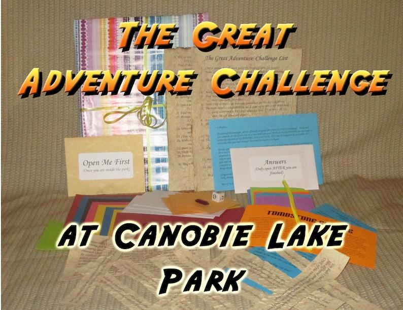 Scavenger Hunt Adventure  Canobie Lake Park Salem NH  The image 0