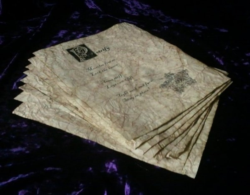 Wizard Spell Book Pages  Destruction Spells image 0