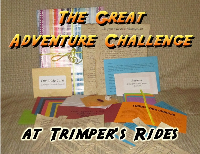 Scavenger Hunt Adventure  Trimper's Rides Ocean City MD image 0