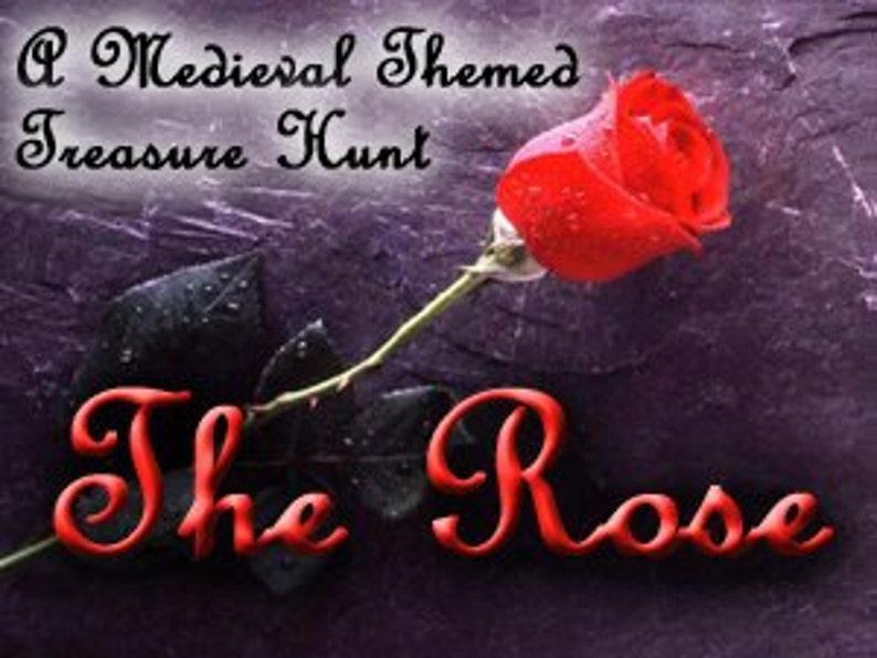 The Rose  A Medieval Fairy Tale Treasure Hunt image 0