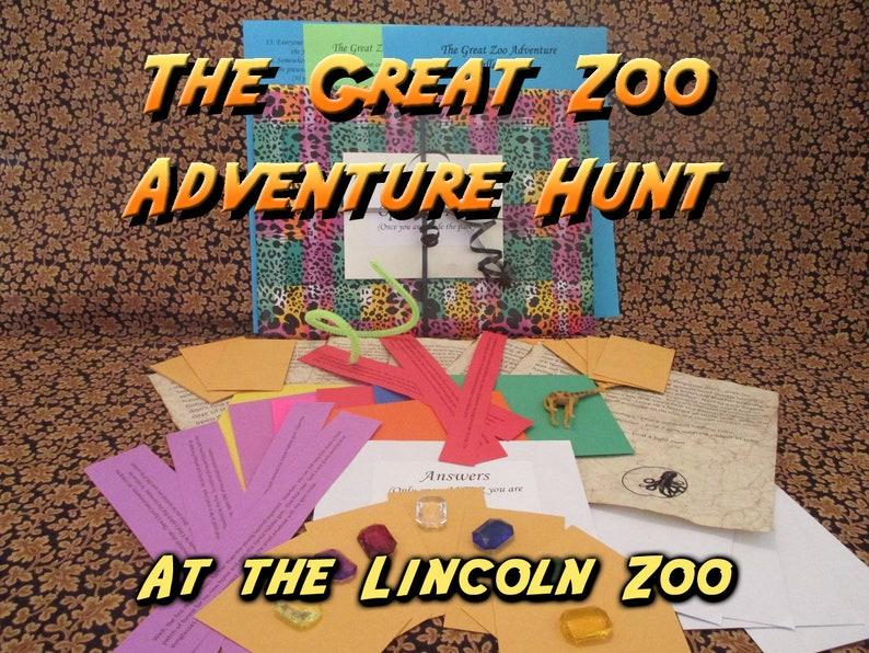 Scavenger Hunt  Lincoln Children's Zoo Adventure Hunt  image 0