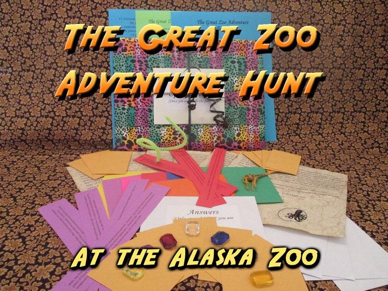 Scavenger Hunt  Alaska Zoo Adventure Hunt  The Great Zoo image 0