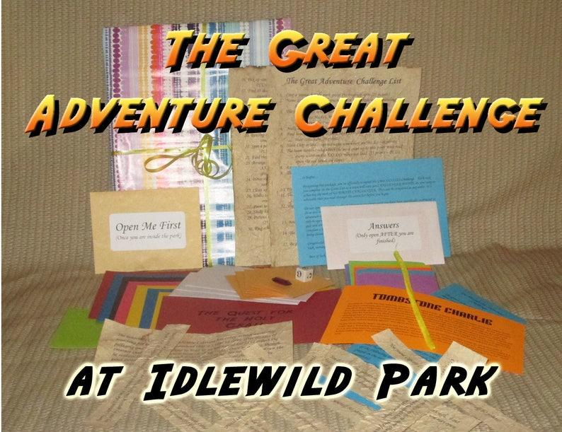 Scavenger Hunt Adventure  Idlewild Amusement Park Ligonier image 0