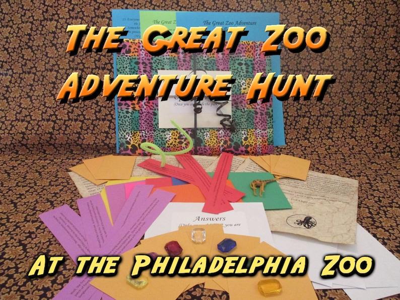 Scavenger Hunt  Philadelphia Zoo Adventure Hunt  The Great image 0