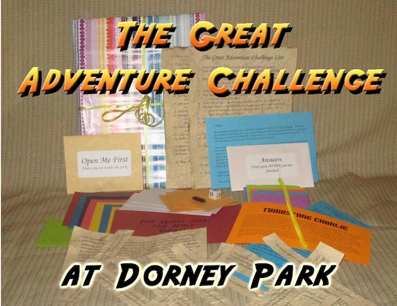 Scavenger Hunt Adventure  Dorney Park Allentown PA  The image 0