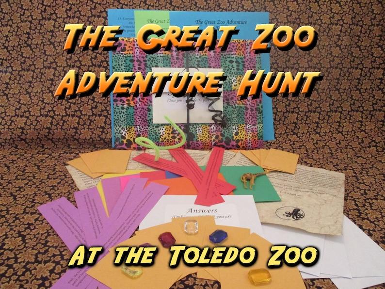 Scavenger Hunt  Toledo Zoo Adventure Hunt  The Great Zoo image 0