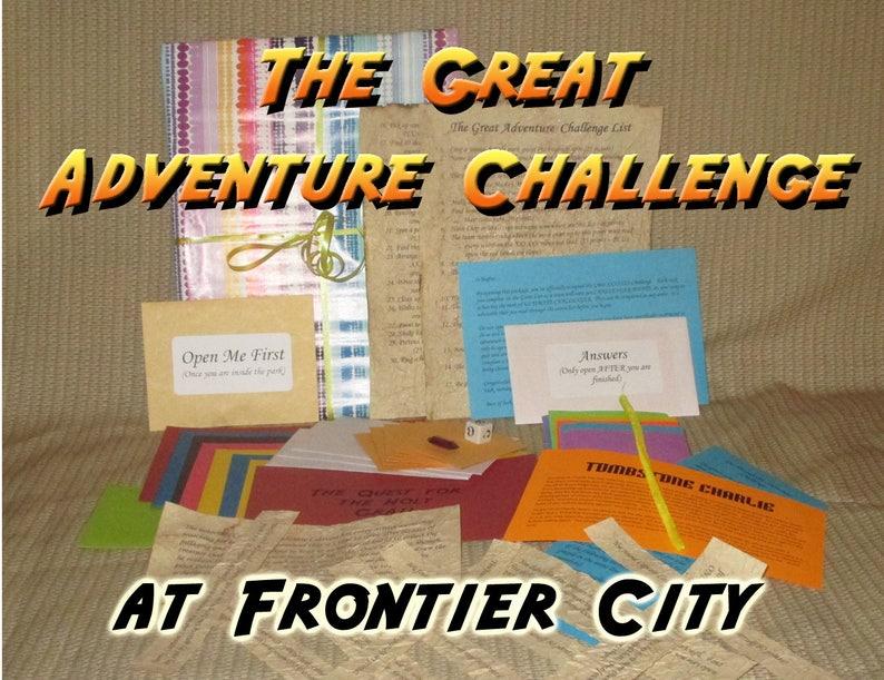 Scavenger Hunt Adventure  Frontier City Oklahoma City  The image 0