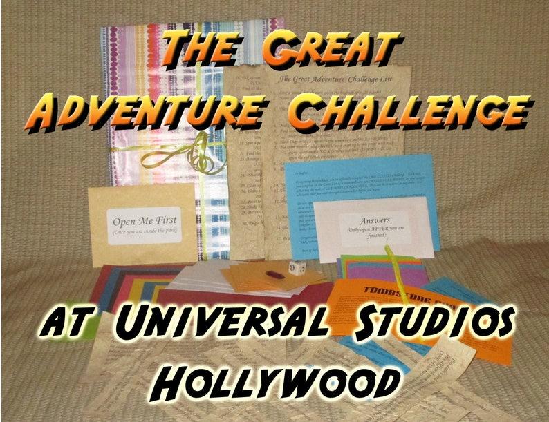 Scavenger Hunt Adventure  Universal Studios Hollywood  The image 0
