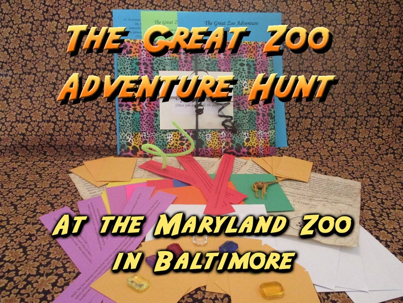 Scavenger Hunt  Maryland Zoo in Baltimore Adventure Hunt  image 0