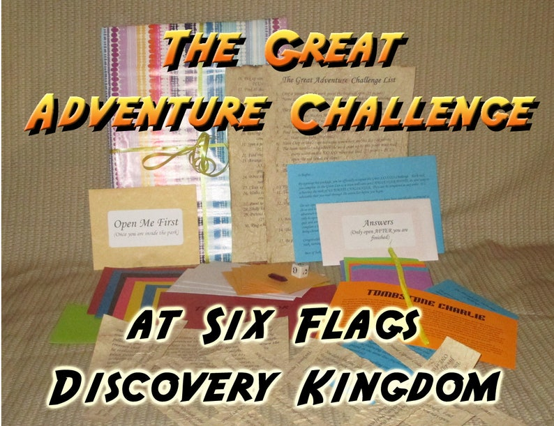 Scavenger Hunt Adventure  Six Flags Discovery Kingdom  The image 0