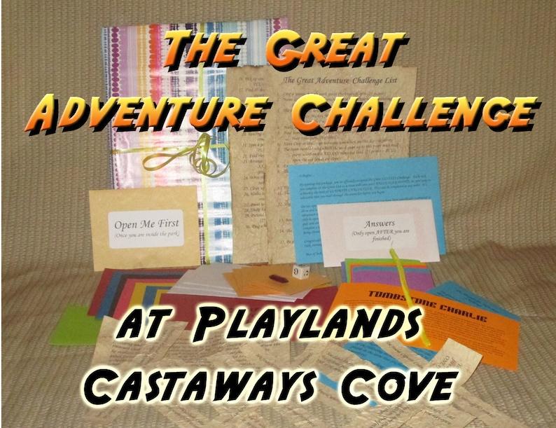 Scavenger Hunt Adventure  Playland's Castaway Cove Ocean image 0