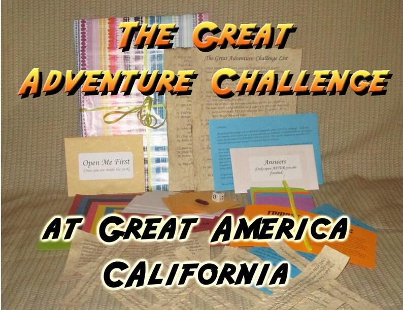Scavenger Hunt Adventure  Great America California  The image 0