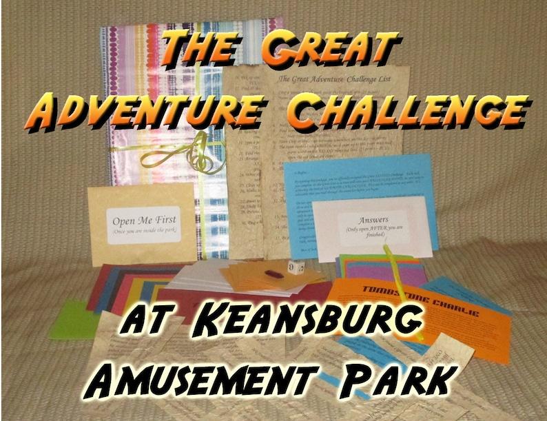 Scavenger Hunt Adventure  Keansburg Amusement Park NJ  The image 0