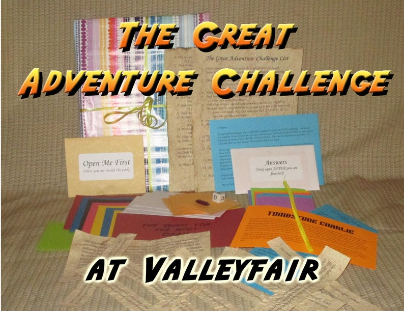 Scavenger Hunt Adventure  Valley Fair Shakopee MN  The image 0
