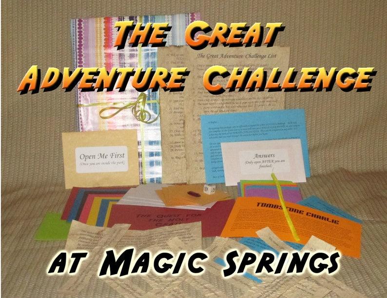 Scavenger Hunt Adventure  Magic Springs  The Great Adventure image 0