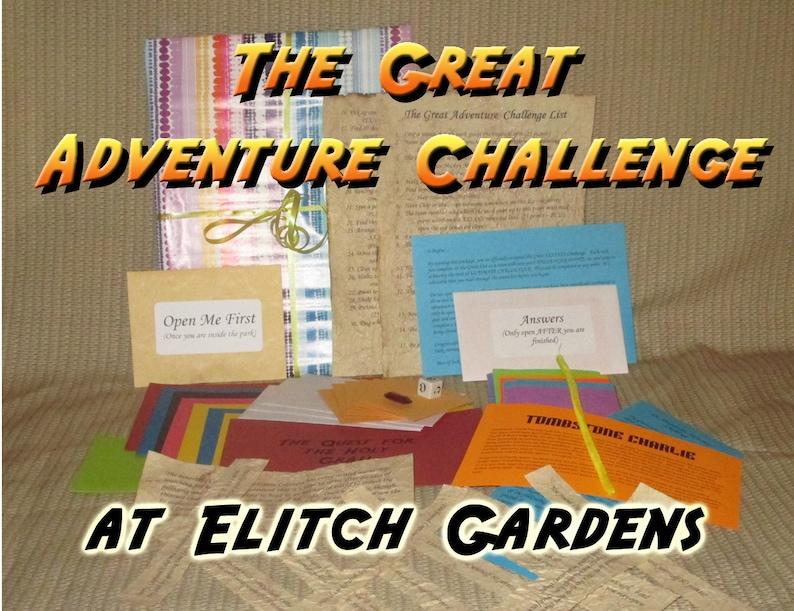 Scavenger Hunt Adventure  Elitch Gardens Amusement Park  The image 0