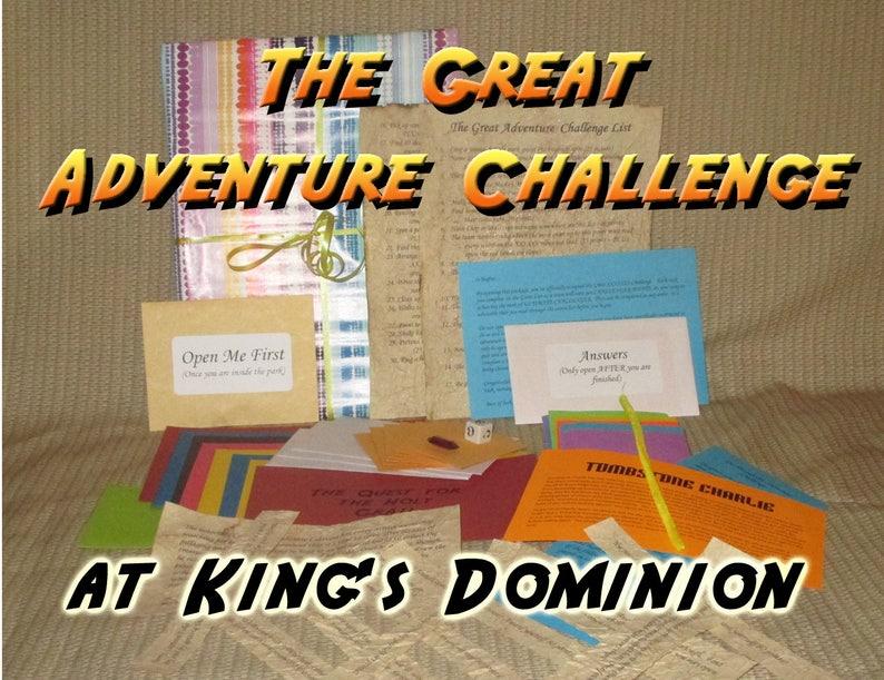 Scavenger Hunt Adventure  Kings Dominion Doswell VA  The image 0