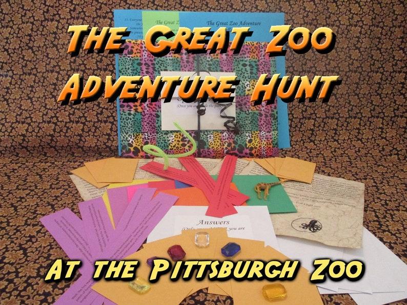 Scavenger Hunt  Pittsburgh Zoo Adventure Hunt  The Great Zoo image 0