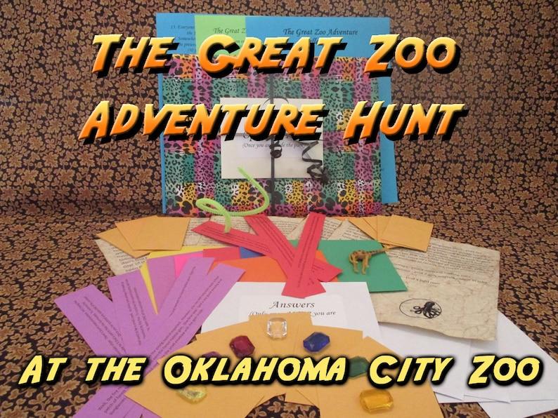Scavenger Hunt  Oklahoma City Zoo Adventure Hunt  The Great image 0