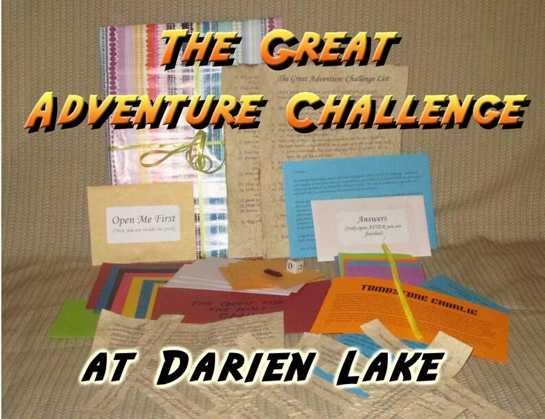Scavenger Hunt Adventure  Darien Lake Amusement Park Darien image 0