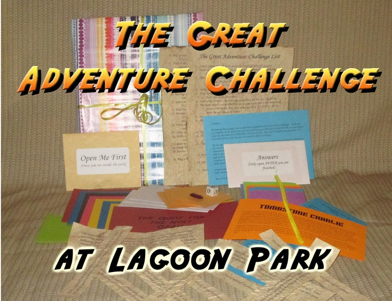 Scavenger Hunt Adventure  Lagoon Amusement Park Farmington image 0