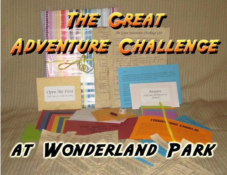 Scavenger Hunt Adventure  Wonderland Park Amarillo TX  The image 0