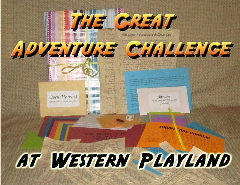 Scavenger Hunt Adventure  Western Playland El Paso TX  The image 0