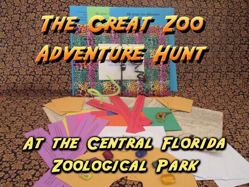 Scavenger Hunt  Central Florida Zoological Gardens Adventure image 0