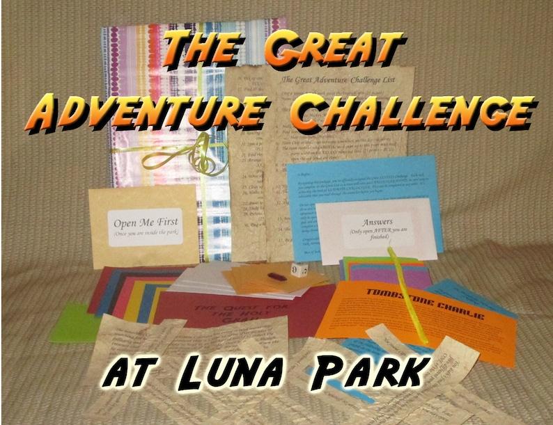 Scavenger Hunt Adventure  Luna Amusement Park Brooklyn NY  image 0