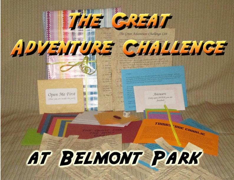 Scavenger Hunt Adventure  Belmont Park  The Great Adventure image 0