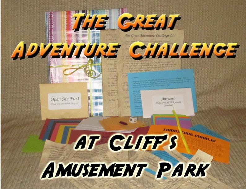 Scavenger Hunt Adventure  Cliff's Amusement Park image 0