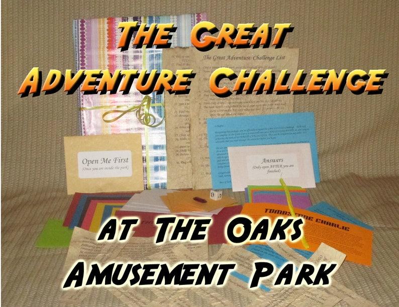 Scavenger Hunt Adventure  The Oaks Amusement Park Portland image 0