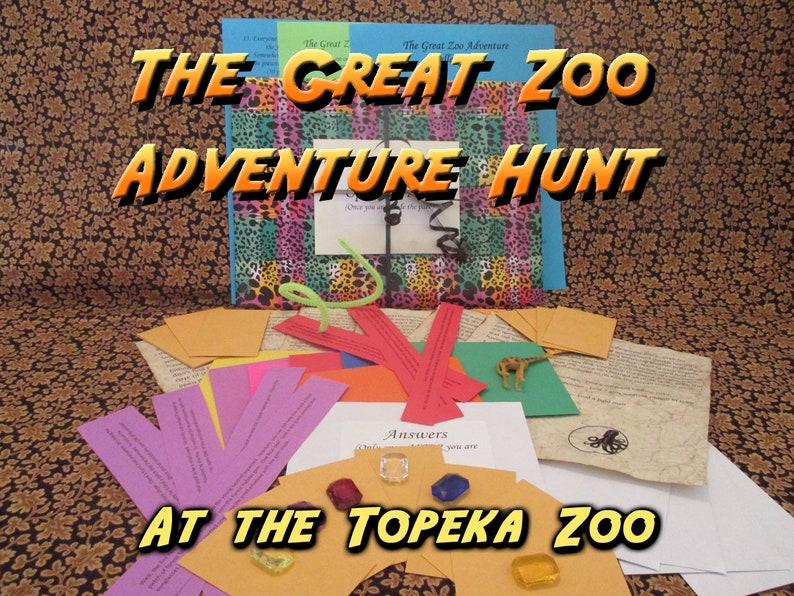 Scavenger Hunt  Topeka Zoo Adventure Hunt  The Great Zoo image 0