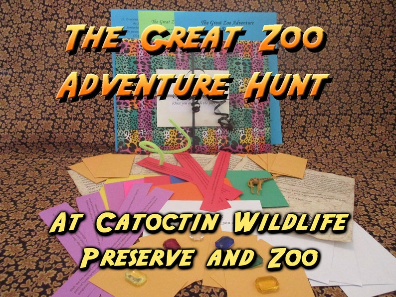Scavenger Hunt  Catoctin Wildlife Preserve and Zoo Adventure image 0