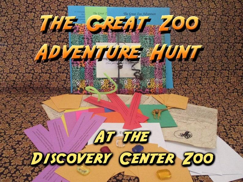 Scavenger Hunt  Discovery Center Zoo NE Adventure Hunt  image 0