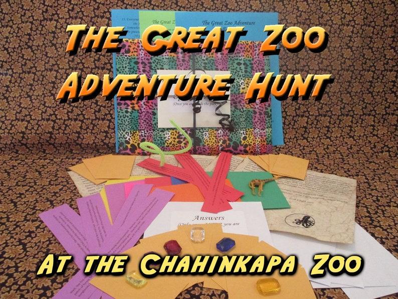 Scavenger Hunt  Chahinkapa Zoo Adventure Hunt  The Great Zoo image 0