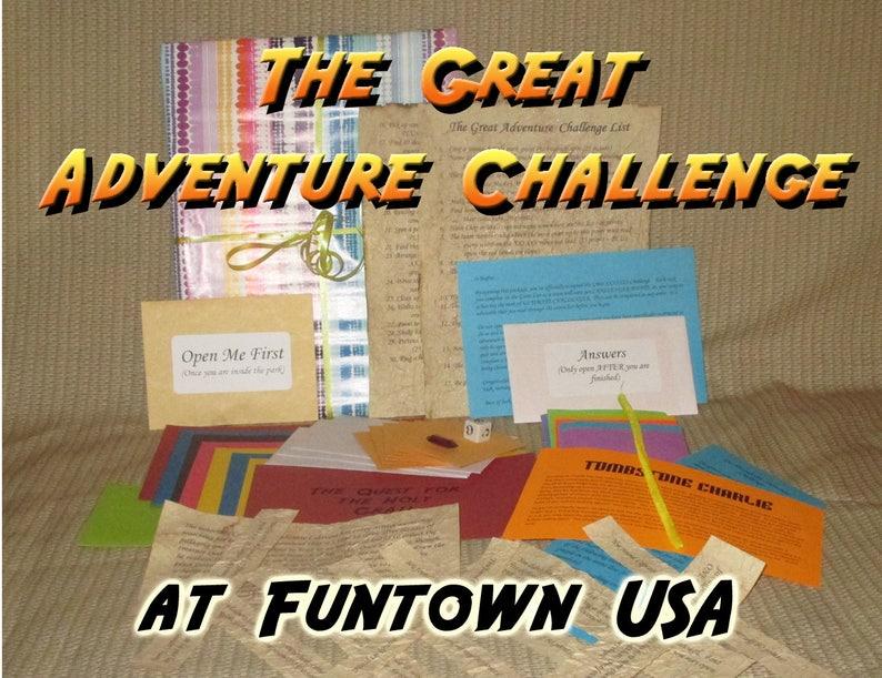 Scavenger Hunt Adventure  Funtown USA Saco ME  The Great image 0