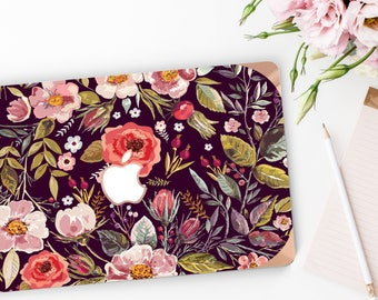 Platinum Edition . Macbook Pro 13 Case Midnight Floral Medley                . Distinctive   Macbook Pro 13 A1989 A2159 . Pro 16 Touch A2141
