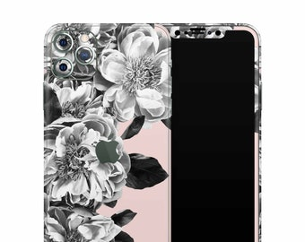 Black Rose Quartz Decal Skin Xtreme Wrap Edition . iPhone X . iPhone Xs Max . iPhone 11 . iPhone 11 Pro . iPhone 11 Pro Max . iPhone XR