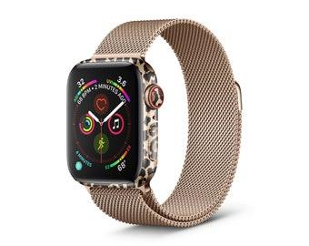 Elusive Leopard Vinyl Skin Decal for Apple Watch Series 5, Apple Watch Series 4, Apple Watch Charger