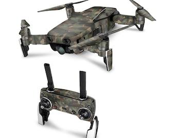 DJI Drone Camouflage #4 Vinyl Skin Decal for DJI Tello Drone . Spark . Phantom 4 . Mavic Pro . Mavic Air . Mavic 2 Pro . Inspire 1 DJI Osmo