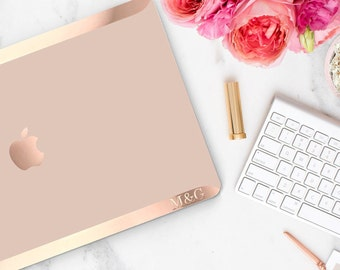 Rose Gold Permanent Embossed-Up Letters and Monogram (Rose Gold Area) - Touch of Personality and glamour -  Platinum Edition