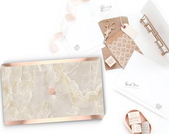 Minimalist Breccia Beige Marble - Reserved Listing