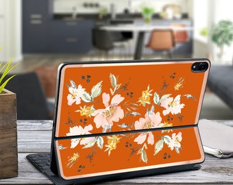 "Uko Vintage Japanese Burnt Orange and Rose Gold Vinyl Skin Decal - Apple Smart Keyboard Folio iPad Pro 11"" . iPad Pro 12.9"" . iPad Pro 2020"