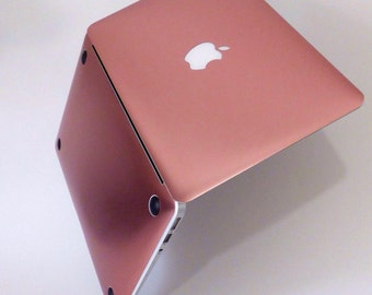 Rose Gold Rose Gold    . Distinctive Macbook Hard Case and Bold Rose Gold Accents . Macbook Pro 13 Case . Custom Monogram
