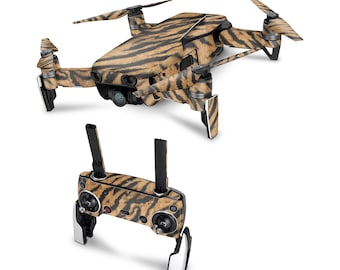 DJI Drone Tiger Vinyl Skin Decal for DJI Tello Drone . Spark . Phantom 4 . Mavic Pro . Mavic Air . Mavic 2 Pro . Inspire 1 DJI Osmo