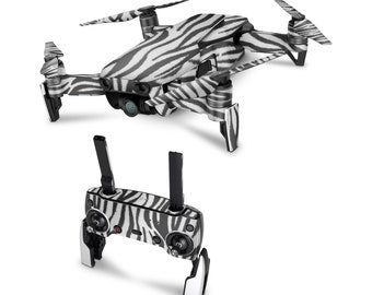 DJI Drone Zebra Vinyl Skin Decal for DJI Tello Drone . Spark . Phantom 4 . Mavic Pro . Mavic Air . Mavic 2 Pro . Inspire 1 DJI Osmo