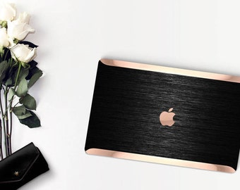 Platinum Edition . Macbook Pro 13 Case Elegant Brushed Black . Distinctive  .   Macbook Pro 13 A1989 A2159 . Pro 16 Touch A2141 . A1990